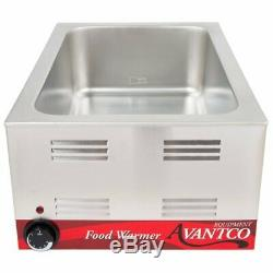 Full Size 12 x 20 Electric Countertop Food Pan Warmer Commercial Chafer 120V