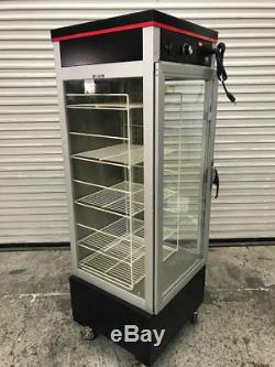 Heated Pizza Food Warmer Display Case Cabinet Hatco Flav-R-Savor PFST-1X #9059
