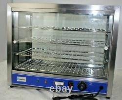 Hot Food Pie Pastie Warmer Display Cabinet Counter 540mm wide PC540