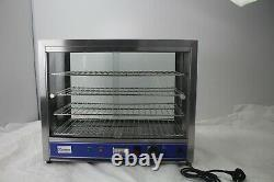 Hot Food Pie Pastie Warmer Display Cabinet Counter 640mm wide PC650