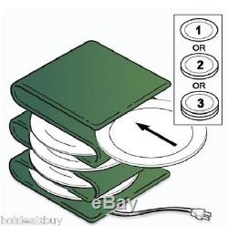 Kitchen Electric Heating Plate Warmer Cooking Dish Party Food Serving Restaurant
