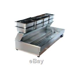 New Listing! 110V 2000W 8-Pan Bain-Marie Food Warmer Steam Table New US Stock