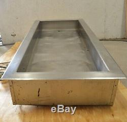 Piper 4HCIDI Restaurant Stainless Steel Buffet Drop-In Hot Well Food Warmer 208V