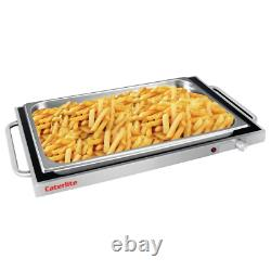 Professional Caterlite Electric Hot Plate Food Warmer 550mm GN 1/1
