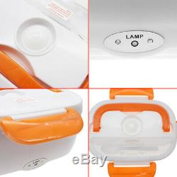 Quality 12V Portable Car Electric Heating Lunch Box Food Heater Bento Warmer Hot