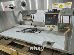 RANDELL 31348 48 ELECTRIC 3 WELL HOT FOOD With HATCO FR2-9B HYDRO-HEATER