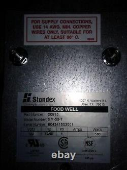 STANDEX SM-50-7 Electric Drop-In Food Warmer 7 quart capacity. Our #2