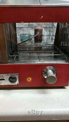 STAR Hot Dog Steamer Warmer Cooker Machine Bun Food Electric Countertop USED