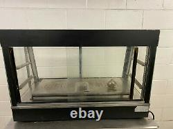 Super Chef Heated Humidified Food Warmer Display Case 120 Volts Tested