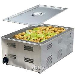 Tiger Chef Food Warmer Full Size Countertop Food Warmers Commercial Electric