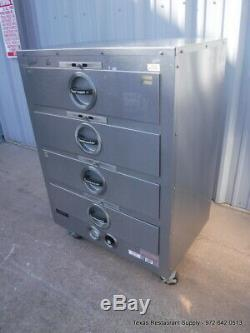 Toastmaster 3D8XSD000T09 Electric 4 drawers Food Warmer on casters 120 Volts