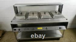 Vollrath 38104 Serve Well Electric 4 Pan Food Warmer Table 120 Volt 1 Ph Tested
