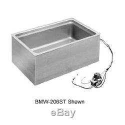Wells BMW-206SDT Bottom Mount Electric Built-In Food Warmer