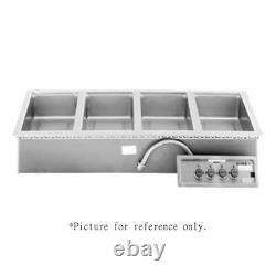 Wells MOD-400TDM/AF Built-In Electric Food Warmer with Manifold Drain and Autofill