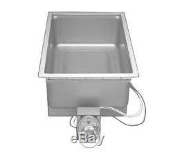 Wells SS-206D Food Warmer top-mount built-in electric 12 x 20 pan opening with