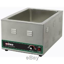 Winco FW-S600 120V Electric Food Warmer/Cooker